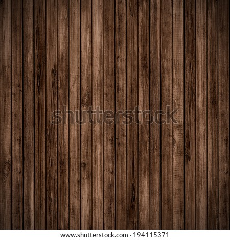 Wood wall background - stock photo