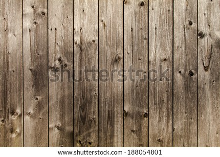 Wood wall high quality pattern/texture - stock photo