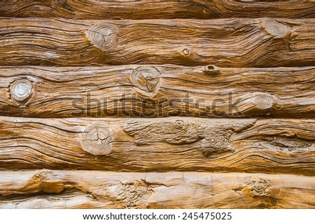 Wood wall texture as background - stock photo