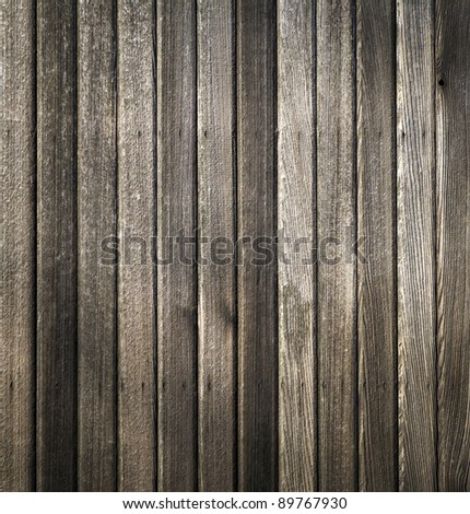 Wood wall texture from new barn - stock photo