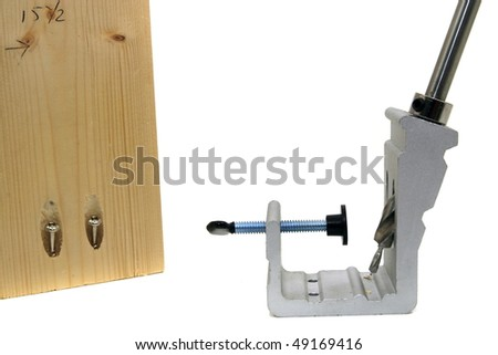 wood workers tool for making pocket hole joinery