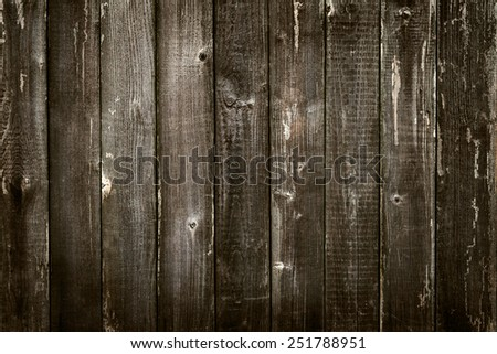 Wooden antique plank background texture vignette - stock photo
