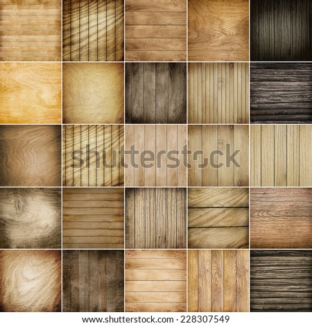 wooden background and natural wood texture closeup - stock photo