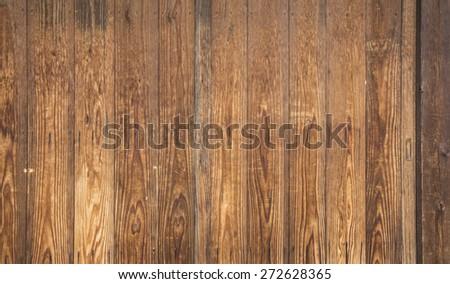 Wooden background. Brown grunge texture. - stock photo