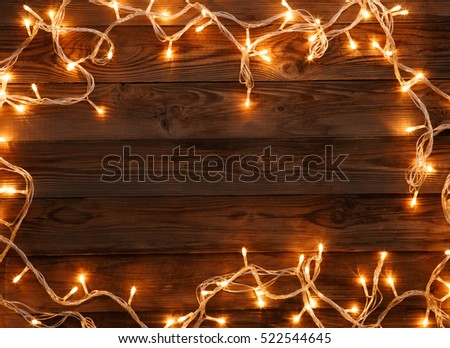 Wooden background for Christmas wishes