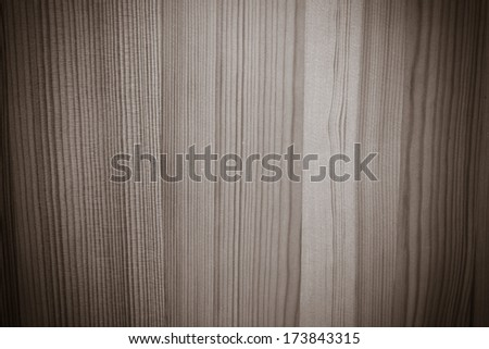 Wooden background. Horizontal black and white image