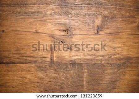 Wooden background. Oak Planks - stock photo