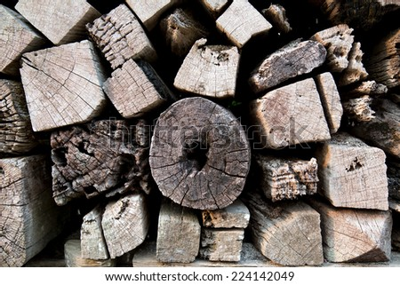 Wooden background texture. - stock photo