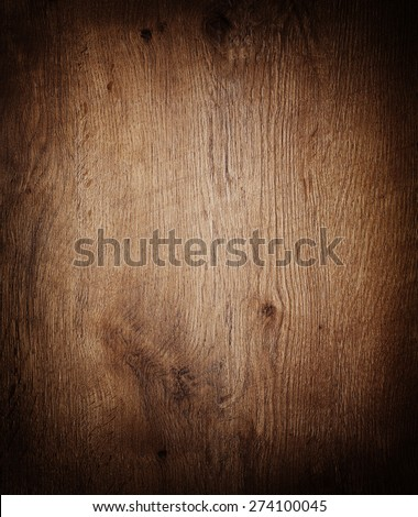 wooden background texture with vignette. - stock photo