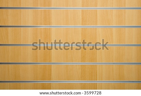 wooden background with metal lines
