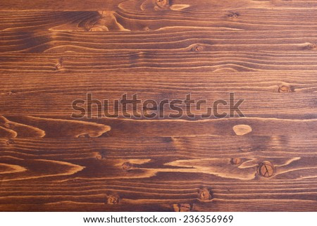wooden board chocolate color textured top view - stock photo