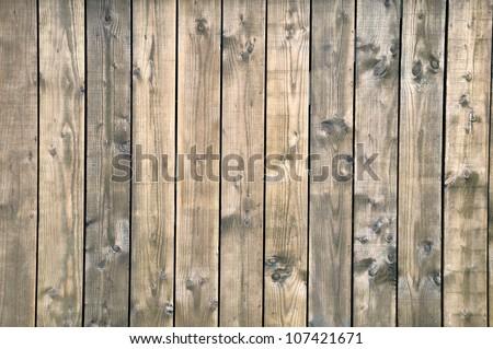 Wooden boards dark brown - stock photo