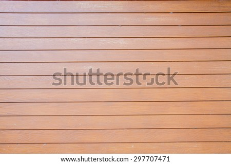 Wooden Brown Wall Surface  - stock photo