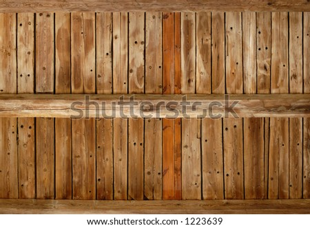 Wooden ceiling texture background