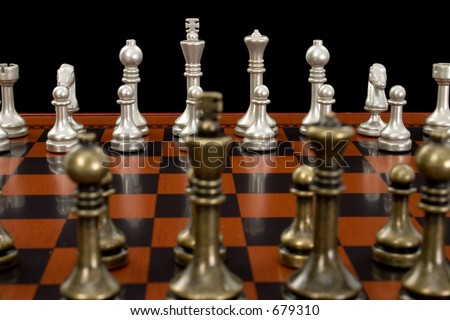 Nice Chess Boards currency war photo shows banknotes different stock photo 341660288