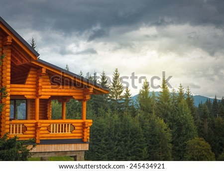Home In The Mountains mountain home stock images, royalty-free images & vectors