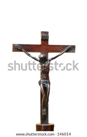Wooden cross symbolizing Jesus Christ died for our sins