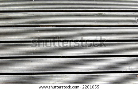 wooden decking - stock photo