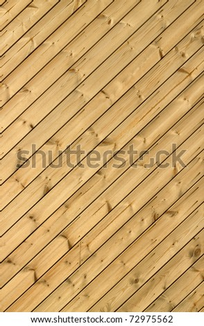Wooden decking planks close up. - stock photo