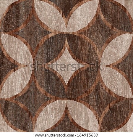 wooden decor texture. (High.res.) - stock photo