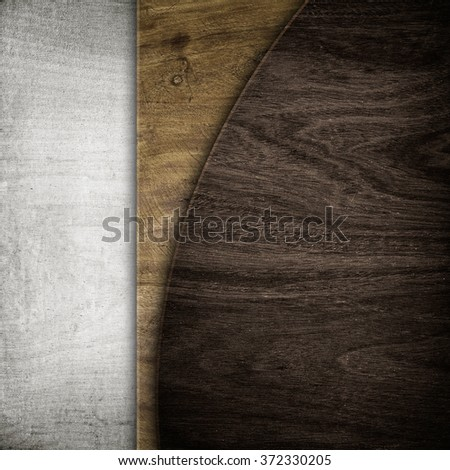 wooden design background - stock photo