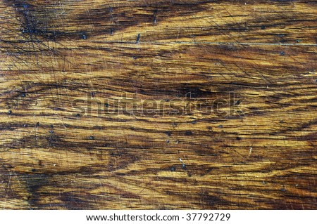 Wooden desk, surface pattern, natural material, texture - stock photo