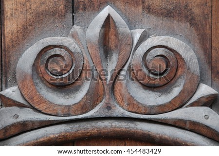 Wooden details background