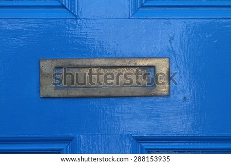 Wooden Door in Bray, Co. Wicklow, Ireland