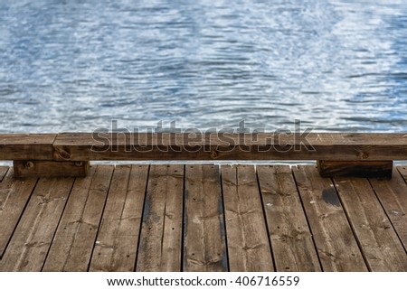 wooden fence closeup photo - stock photo