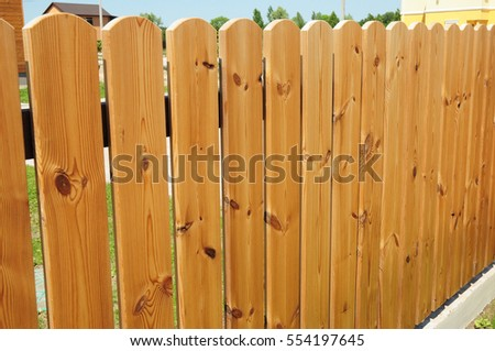 Wooden Fence Door. Cozy Wood Fence - Wood Fencing. & Close On Wooden Fence Doorwood Fence Stock Photo 628951532 ... pezcame.com