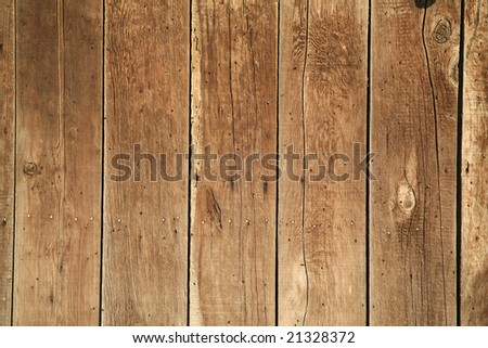 Wooden fence or the side of a building background with lots of tiny flies - stock photo