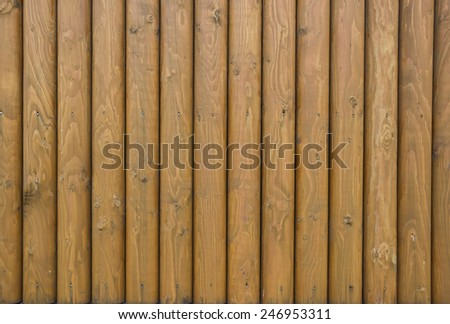 Wooden fence texture - stock photo