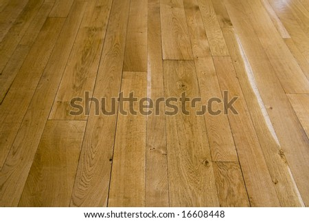 wooden floor background. - stock photo