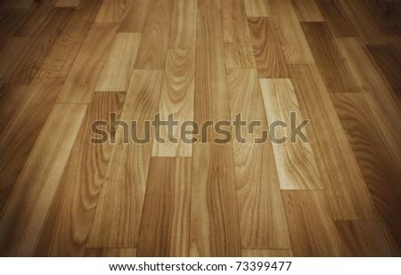 Wooden floor for interior design. - stock photo