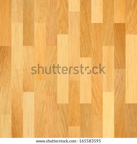 Wooden floor. Parquet flooring background. - stock photo
