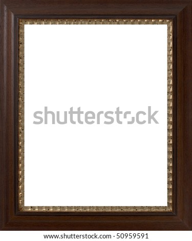 Wooden frame for paintings or photographs.