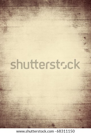 wooden frame with space for your text or image - stock photo