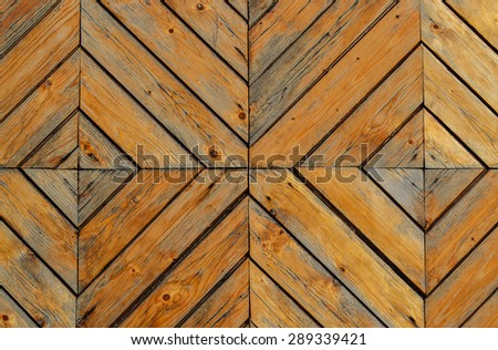 Wooden gates background