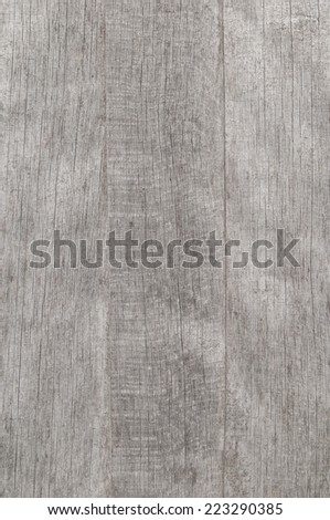 Wooden grey board texture - stock photo