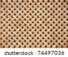 Wooden grid, the background of woven wood - stock photo