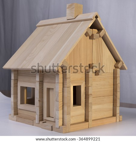 wooden house designer for children