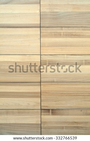Wooden large planks.