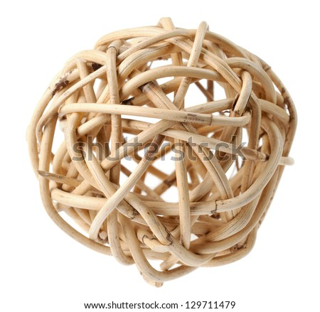 wooden node ball