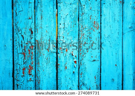 Wooden Palisade Background. Close Up Of Green Wooden Fence Panels. Vintage Wood  Background.