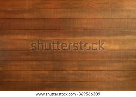 Wooden panel plank background sepia tone. Brown wood texture. desk background. Table floor. beech wood plank. - stock photo