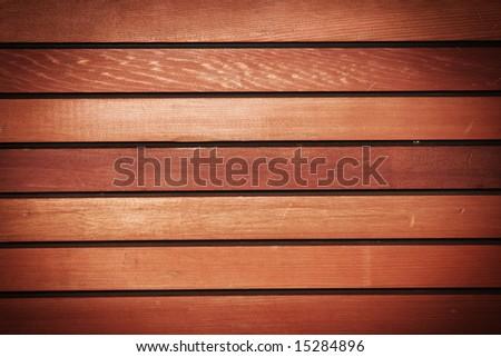 Wooden panel texture - stock photo