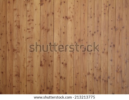 wooden panel wall - stock photo
