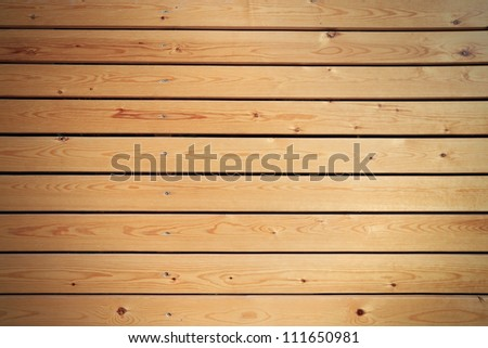 Wooden panel wall background - stock photo
