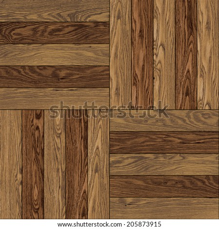 wooden parquet seamless tile texture. print resolution - stock photo