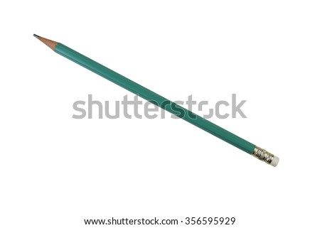 Wooden pencil - isolated